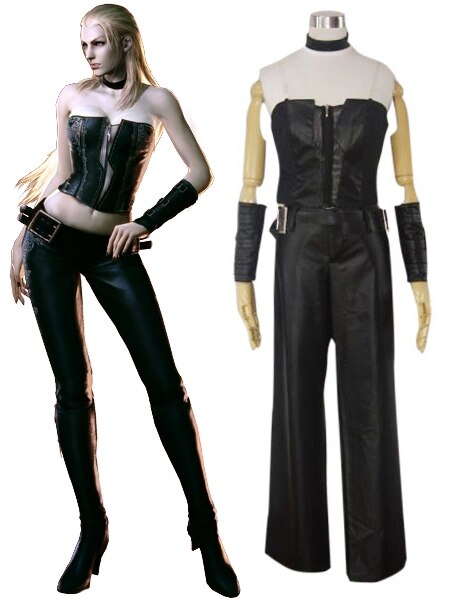 Devil May Cry1 Trish Cosplay Costume