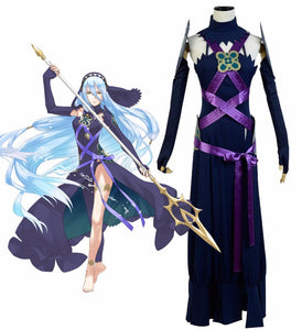 Fire Emblem Fates Azura Dark Dress Cosplay Costume Custom Made