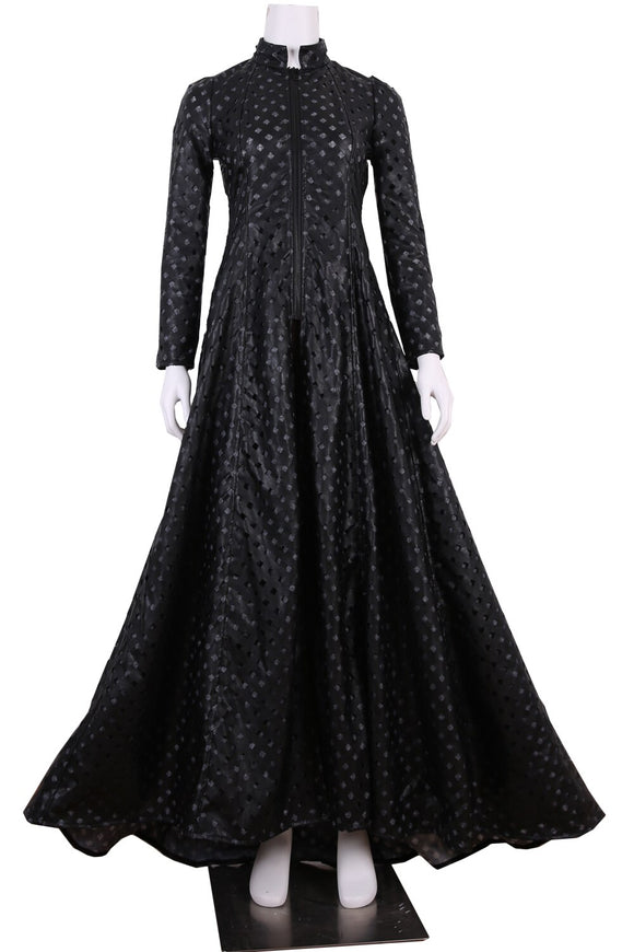 Game Of Thrones 7 Queen Cersei Lannister Black Dress Cosplay Costume