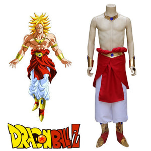 Dragon Ball Z Legendary Super Saiyan Broli Suit Cosplay Costume Custom Made