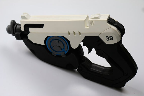 Overwatch OW Tracer Gun PVC Weapon Cosplay Prop 1:1 Scale