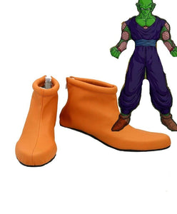 Dragon Ball Piccolo Cosplay Shoes Leather Boots Custom Made