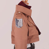 Attack on Titan Mikasa Ackerman Cosplay Costume Custom Made