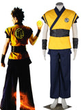 Dragon Ball Film Evolution Goku Kame Practice Unifrom Cosplay Costume
