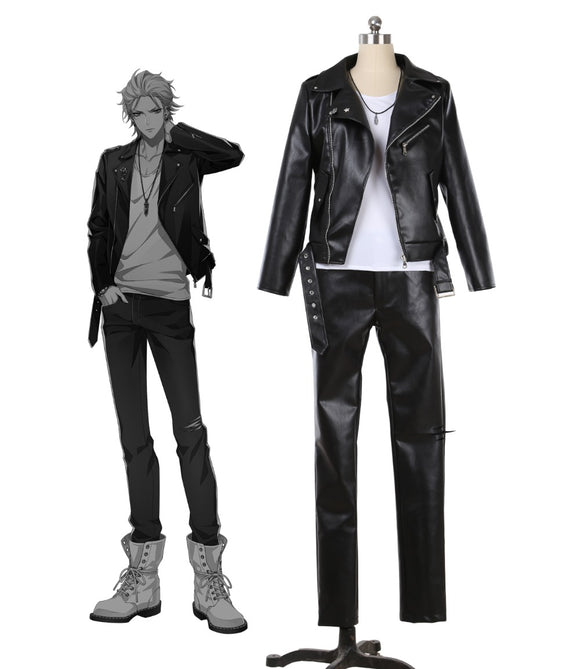 Division Rap Battle The Dirty Dawg Samatoki Aohitsugi Cosplay Costume Custom Made PU Leather Full Set Halloween Carnival Cosplay