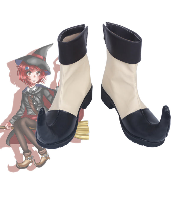 Danganronpa v3 Himiko Yumeno Cosplay Boots Leather Shoes Custom Made