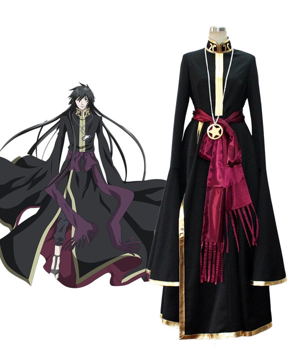 Saint Seiya The Lost Canvas Myth of Hades Aaron Cosplay Costume Custom Made