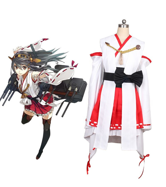 Kantai Collection Kancolle Haruna Cosplay Costume