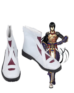 Fate Grand Order FGO Yan Qing Cosplay Boots White Shoes Custom Made
