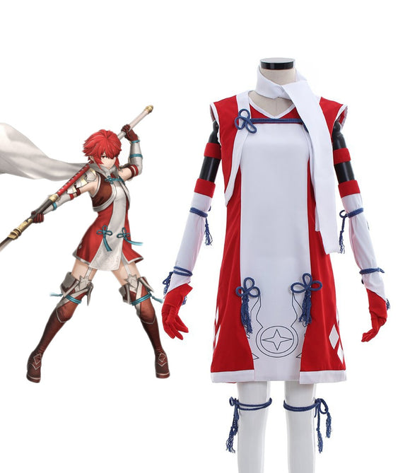 Fire Emblem Fates Hinoka Cosplay Costume Custom Made Full Set Any Size