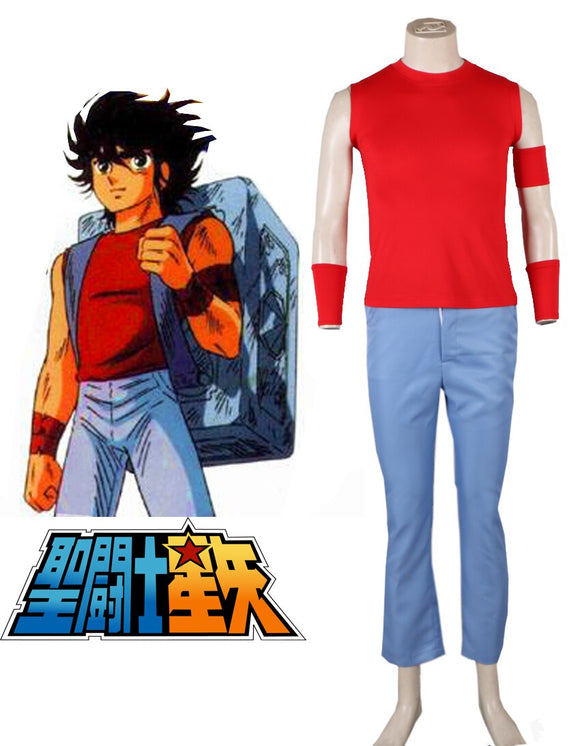 Saint Seiya Bronze Saint Pegasus Seiya Uniform Cosplay Costume