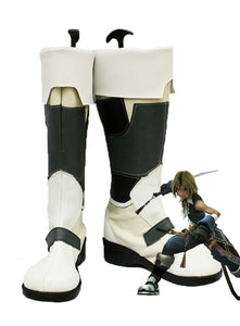 Final Fantasy IX FF9 Zidane Tribal Cosplay Boots Leather Shoes Custom Made