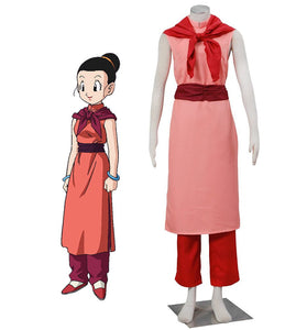 Dragon Ball Chichi Adult Cheongsam Cosplay Costume