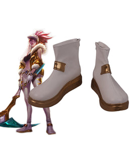 League of Legends LOL KDA Akali Prestige Skin Cosplay Boots Leather Shoes Custom Made