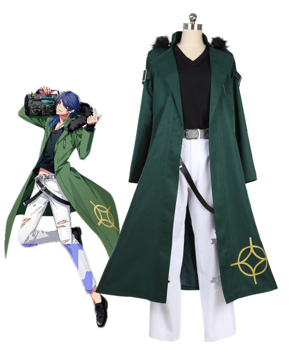 Hypnosis Mic Division Rap Battle Dice Arisugawa Fling Posse Dead or Alive Cosplay Costume Custom Made