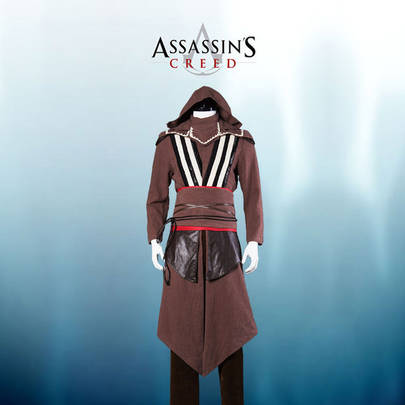 Movie Assassin's Creed Aguilar Callum Lynch Cosplay Costume Full Set