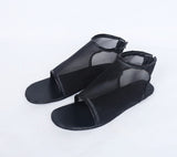 Fate Grand Order FGO Fuuma Kotarou Cosplay Shoes Black Sandals Custom Made