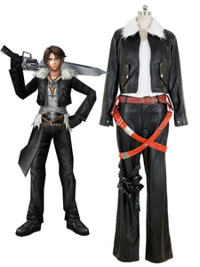 Final Fantasy VIII 8 Movie Squall Lionheart Cosplay Costume
