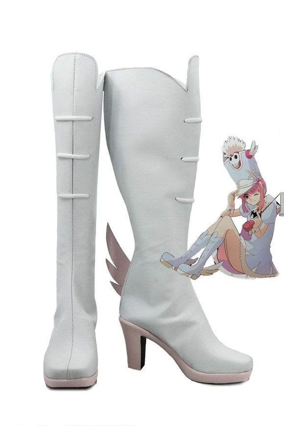 Kill La Kill Nonon Jakuzure Cosplay Boots Leather Shoes Custom Made