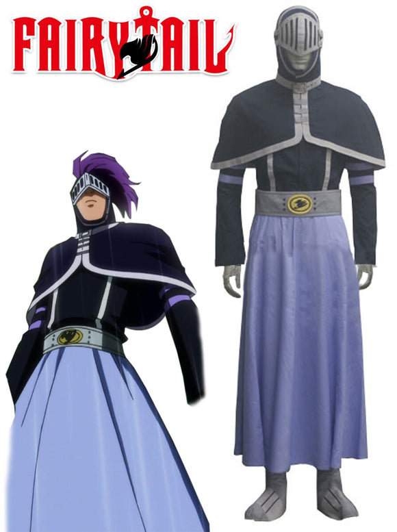 Fairy Tail Human Possession Bickslow Cosplay Costume Custom Made