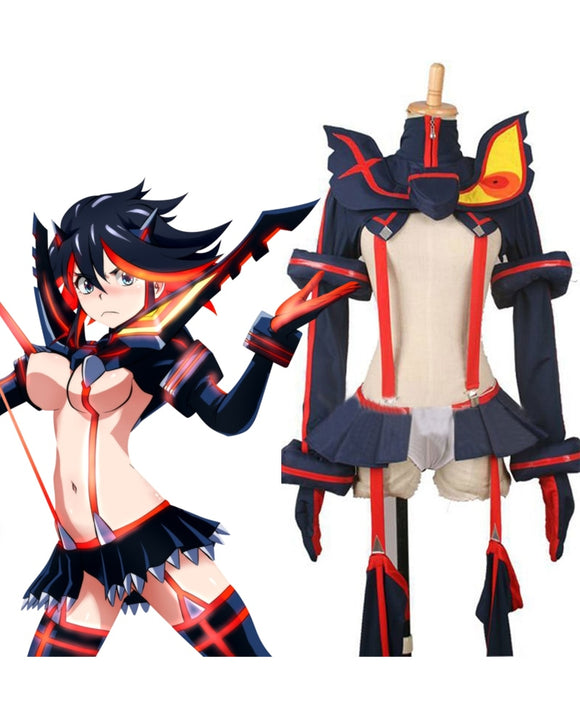 Kill La Kill Matoi Ryuuko Cosplay Costume Custom Made
