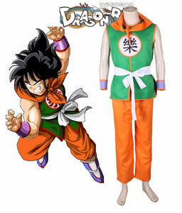 Dragon Ball Yamcha Robber Suit Cosplay Costume Custom Made