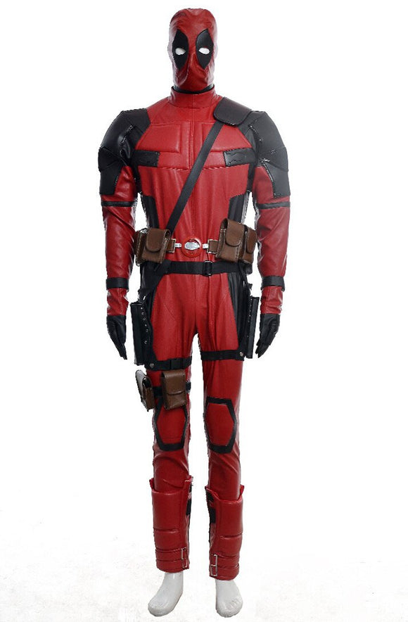X-Men Deadpool Cosplay Costume Custom Made Full Set