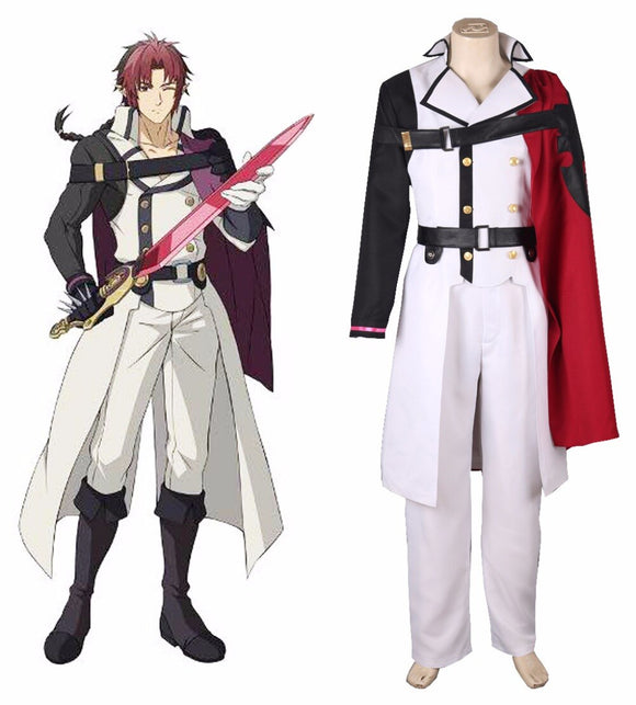 Seraph of the End Crowley Eusford Vampires Cosplay Costume