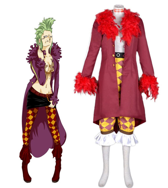 One Piece Bartolomeo Cosplay Costume Custom Made Any Size