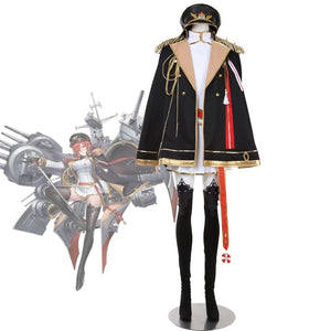 Azur Lane HMS Monarch Level 30 Cosplay Costume Custom Made Full Set