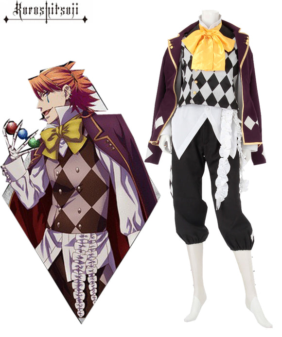 Black Butler Joker Cosplay Costume Custom Made