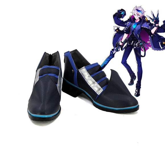 ELSWORD Dreadlord Cosplay Shoes Flat Boots Custom Made