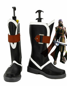 Final Fantasy Type-0 Kurasame Cosplay Shoes Boots Custom Made
