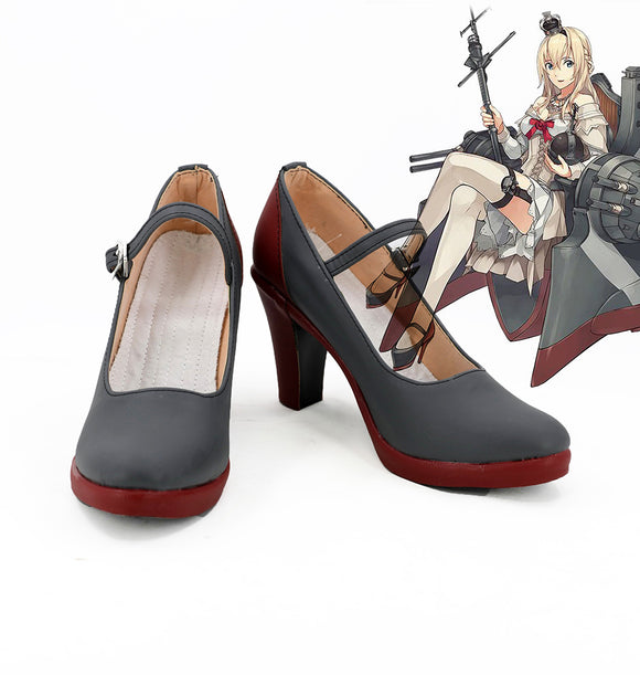 Kantai Collection Warspite Cosplay Shoes Custom Made