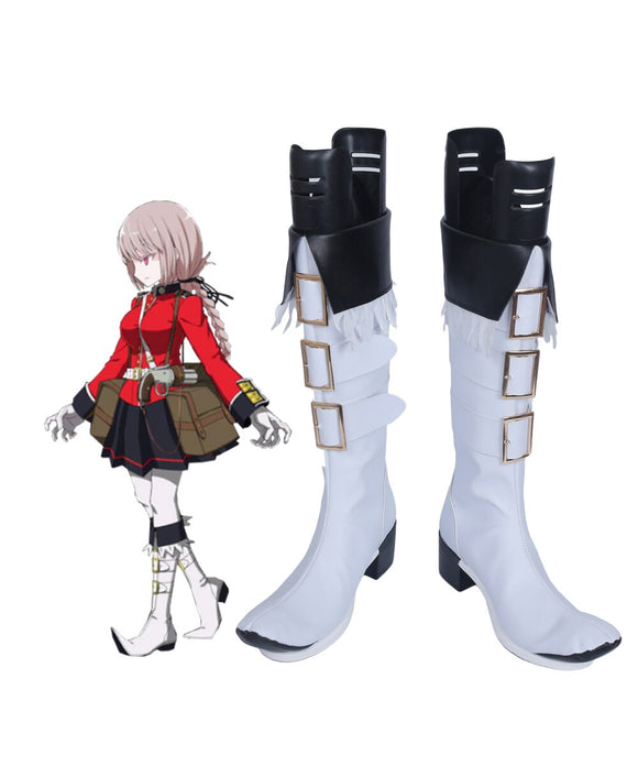 Fate Grand Order FGO Nightingale Cosplay Boots White Shoes Custom Made