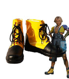 Final Fantasy FF5 Tidus Cosplay Shoes Yellow Boots Custom Made