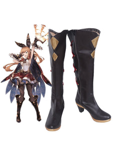 Granblue Fantasy Clarisse Cosplay Boots Shoes Custom Made Any Size