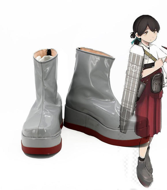Kantai Collection Taihou Cosplay Boots Leather Shoes Custom Made