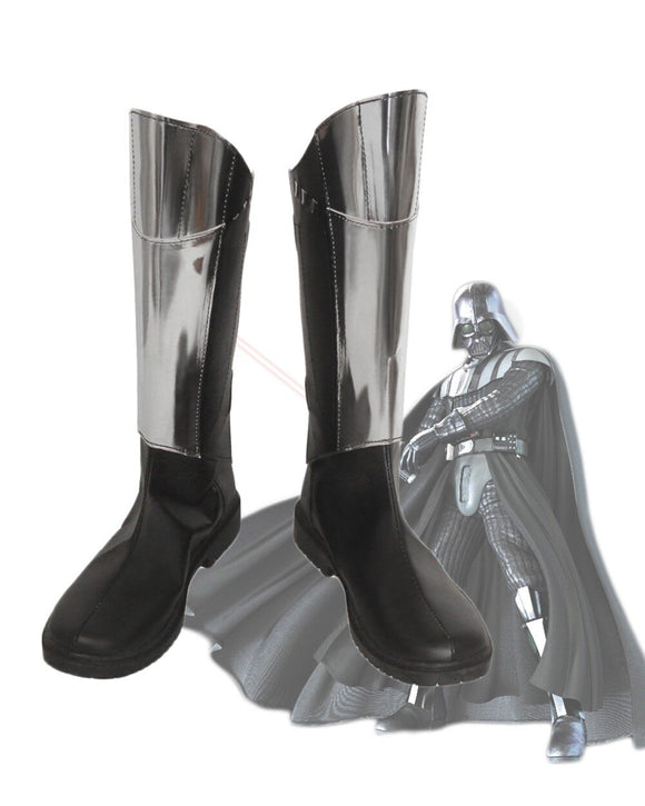 Star Wars the Black Knights Cosplay Boots Leather Shoes Custom Made
