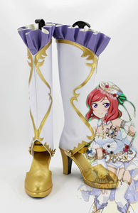 Love Live! Nishikino Maki Birthstone Awakening Cosplay Boots Shoes Custom Made Any Size