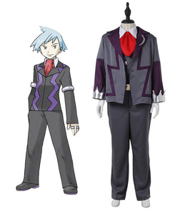Pokemon Steven Stone Cosplay Costume Custom Made