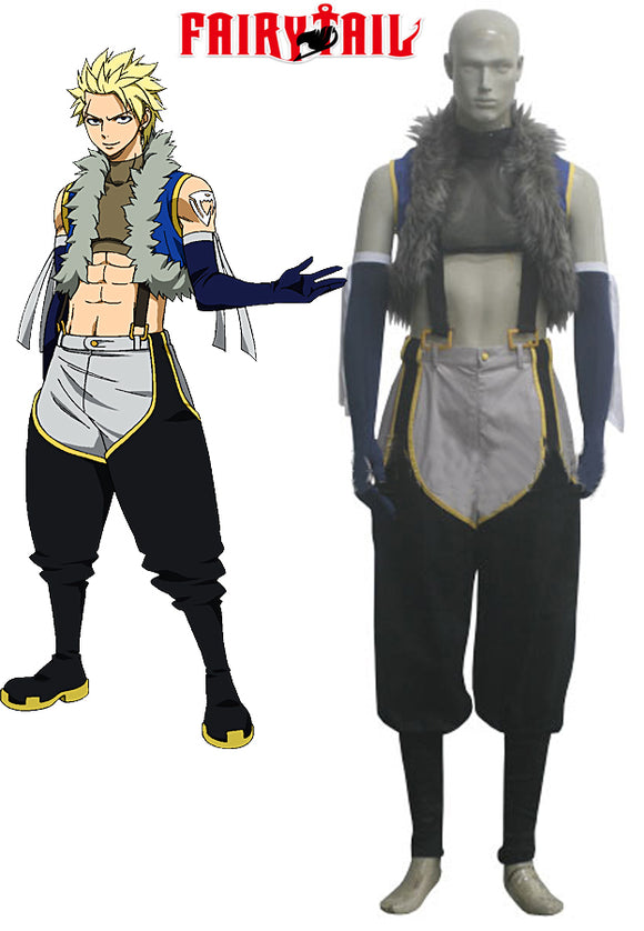 Fairy Tail Sting Eucliffe Cosplay Costume Custom Made
