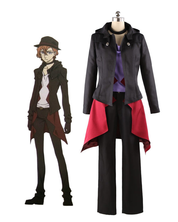 Movie Bungo Stray Dogs DEAD APPLE Nakahara Chuya Cosplay Costume