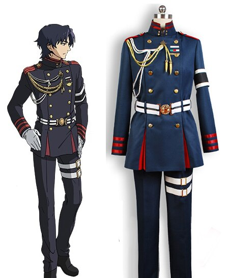 Anime Seraph of the End Guren Ichinose Uniform Cosplay Costume