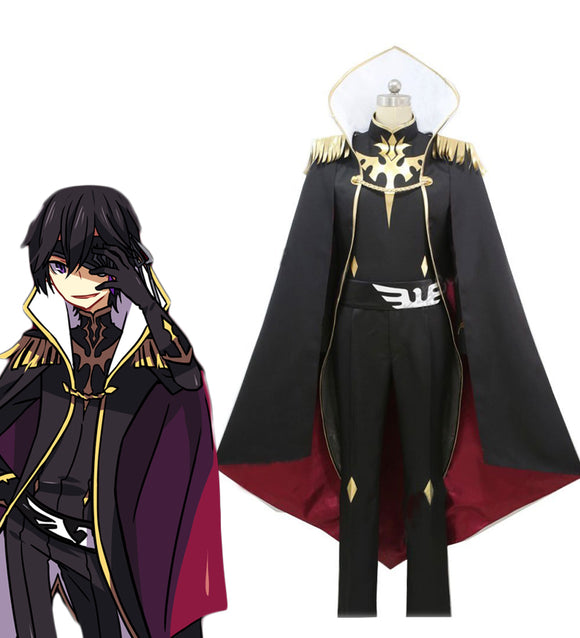 Code Geass: Akito the Exiled Julius Kingsley Cosplay Costume