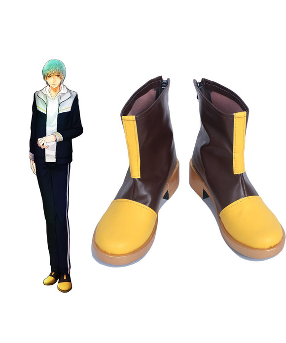 Touken Ranbu Ichigo Hitofuri Cosplay Boots Leather Shoes Custom Made