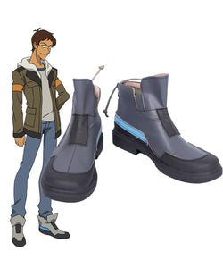 Voltron: Legendary Defender Lance Cosplay Boots Grey Shoes Custom Made