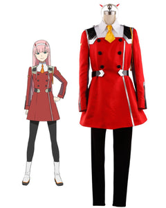 DARLING in the FRANXX CODE 002 Zero Two Cosplay Costume Custom Made