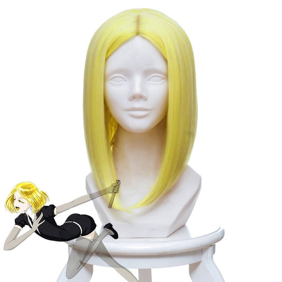 Land of the Lustrous Yellow Diamond Cosplay Wig Yellow Short Synthetic Hair Cosplay