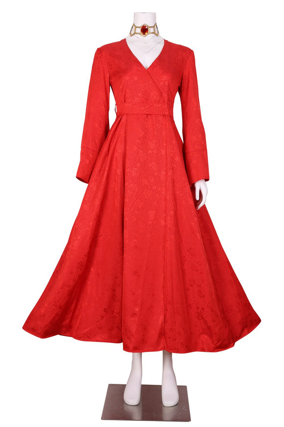 Game Of Thrones Medieval Melisandre Red Dress Cosplay Costume Custom Made